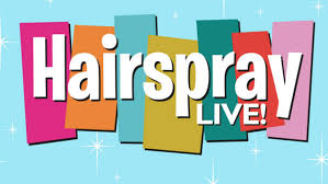 "Logo for ""Hairspray Live!"""
