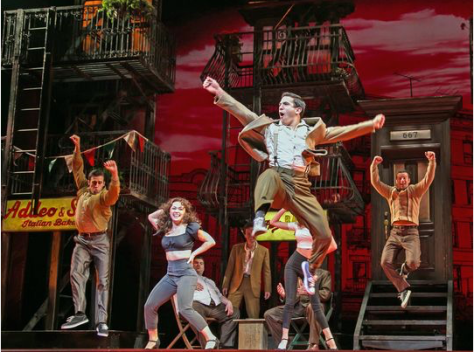 """A Bronx Tale"" had its world premiere at the Paper Mill Playhouse"" in Millburn, NJ. (PHOTO: Matthew Murphy)"