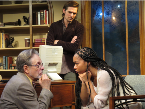 "From left, John FitzGibbon, Jacob A. Ware and Nadia Brown in ""& Juliet."" (PHOTO: SuzAnne Barabas)"