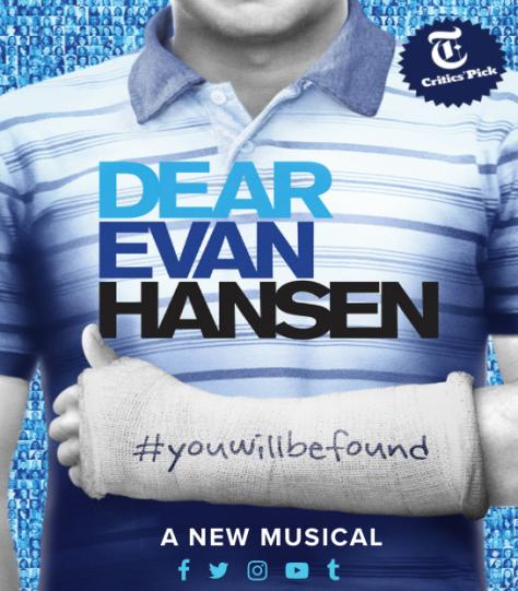 Image of poster for Dear Evan Hansen