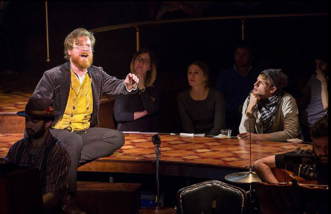 "Scott Stangland in the American Repertory Theater production of ""Natasha, Pierre & the Great Comet of 1812."