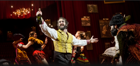"Josh Groban as Pierre in Broadway's ""The Great Comet."" (PHOTO: Chad Batka)"