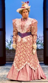 """The Importance of Being Earnest"" directed by Michael Cumpsty at the Two River Theatre Company with the drragonain Lady Bracknell played by Randy Danson. (PHOTO: T Charles Erickson)"