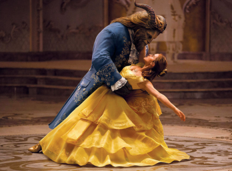 "Emma Watson as Belle; and Dan Stevens as the Beast in the 2017 film ""Beauty and the Beast."" (PHOTO: Disney)"