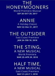 Paper Mill Playhouse's 2017-2018 season.