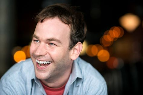 "Mike Birbiglia is a comedian, actor and filmmaker, who also can be heard on Public Radio's  ""This American Life"" and ""The Moth."" He also has  released several comedy albums and television specials. (PHOTO: Courtesy Two River Theater Company)"