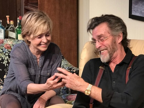 "Jill Eikenberry and John Glover in a scene from ""Fern Hill."" (PHOTO: SuzAnne Barabas)"