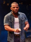 "Blake Morris as the title character in ""King Hedley II"" by August Wilson and directed by Brandon J. Dirden at the Two River Theatre Company. (PHOTO: Photo Credit: T Charles Erickson)"