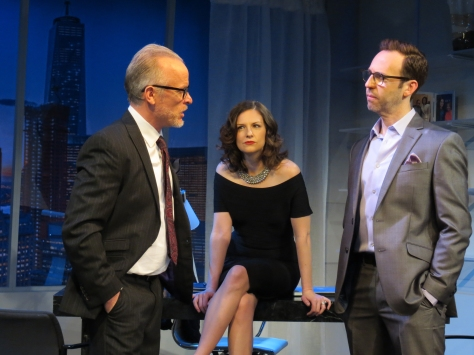 "From left, Conan McCarty, Eleanor Handley and Andrew Rein in a scene from the world premiere of Jack Canfora's ""The Source."" (PHOTO: SuzAnne"