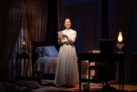 "Maureen Silliman in ""The Belle of Amherst"" at Two River Theater."